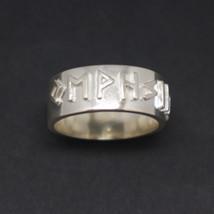 Silver Viking Rune Ring - $62.00