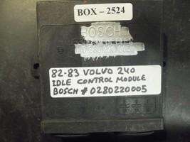 82 83 Volvo 240 Idle Control Module #0280220005 - $97.30
