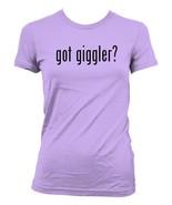 got giggler -  Ladies' Junior's Cut T-Shirt - $24.97