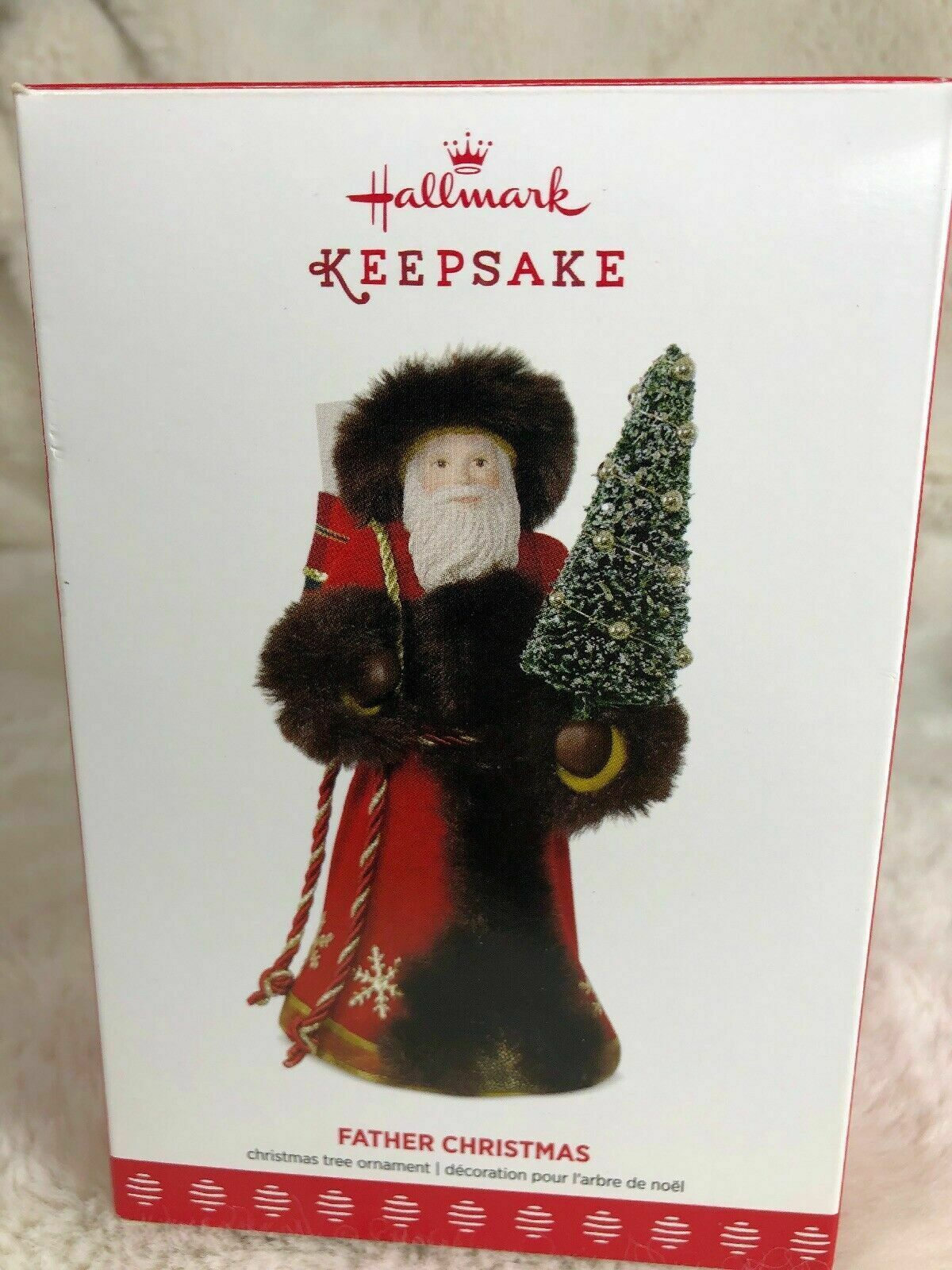 2017 Hallmark Keepsake Father Christmas Ornament
