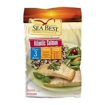 Sea Best All Natural Salmon Portions, 16 Ounce