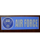 Bumper Sticker 3X9 USAF United States Air Force seal outside vinyl decal - $10.00