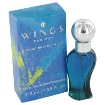 WINGS by Giorgio Beverly Hills Mini EDT Spray .25 oz (Men) - $3.11