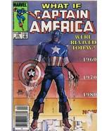 What If #44 ORIGINAL Vintage 1984 Marvel Comics Captain America Revived ... - $14.84