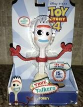 NEW Disney Pixar Toy Story 4 True Talkers - Forky Ready To Ship Woody Bu... - $39.59
