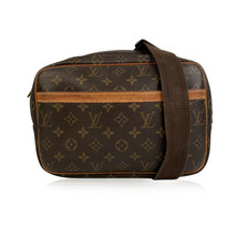 Authentic Louis Vuitton Monogram Canvas Reporter PM Messenger Crossbody Bag - $534.60