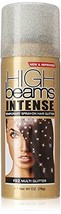 high beams Intense Temporary Spray on Hair Color, Multi Glitter, 2.7 Ounce