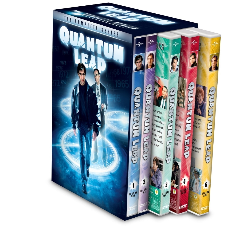 Quantum Leap The Complete Series Season 1-5 (DVD 2014, 27-Disc) 1 2 3 4 5 New