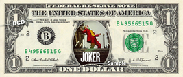 JOKER Movie on a REAL Dollar Bill Joaquin Phoenix Cash Money Collectible... - $8.88