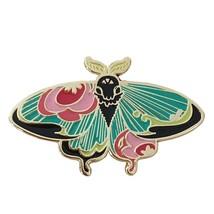 Moth Flair Insect Bug Cartoon Enamel Pin Lapel Brooch Badge Jewellery Ac... - $3.99
