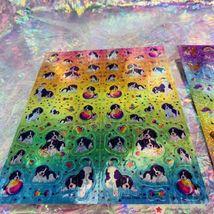 Full Prism Lisa Frank Sticker Sheets S738 S731 Violet Lollipop Rainbow Chaser image 4