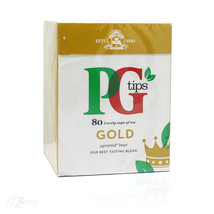 PG Tips Gold Pyramid Tea Bags (80) - At your do... - $14.42