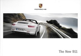 2013 Porsche 911 CARRERA Coupe Cabriolet sales brochure catalog 13 S 991... - $12.00
