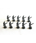 10x Risk 40th Anniversary Edition Board Game Metal Soldier Infantry Blac... - $16.99