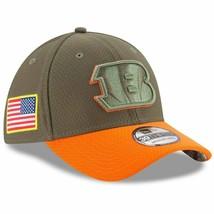 CINCINNATI BENGALS New Era 39THIRTY SALUTE SERVICE Baseball Cap FlexFit ... - $27.71
