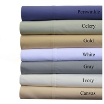 Abripedic Soft Percale Cotton Sheet Set - Super Deep Pockets - ALL SIZES... - $94.99