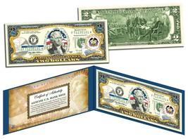 UTAH $2 Statehood UT State Two-Dollar U.S. Bill *Genuine Legal Tender* w... - $13.81