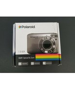 Polaroid iS624 Digital Camera Silver 16 MP 6x Optical Zoom 720p HD Video... - $42.06