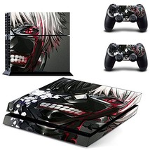 Tokyo ghoul design ps4 decal sticker for console & controllers skin - $15.00