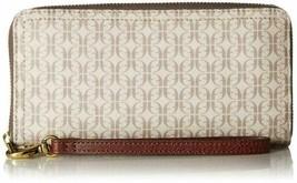 Fossil Logan RFID Zip Around Clutch Wallet - $76.22+