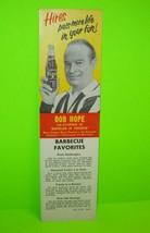 Bob Hope Hires Root Beet 1961 Original NOS Carton Insert Bachelor In Par... - $12.53