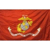 United States Marine Corps Flag 3X5' Solar Max NYLON PREMIUM BANNER  Mad... - $59.35