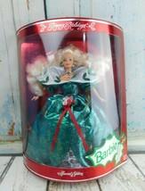 Vintage 1995 Happy Holidays Barbie Special Edition Mattel  - $24.74