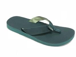 Teva Men's Classic Flip-Flop Jasper Green 1009035 Outdoor Slip On Webbin... - $29.99