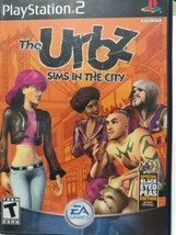 Urbz: Sims in the City PS2 Playstation 2 Complete - $15.00