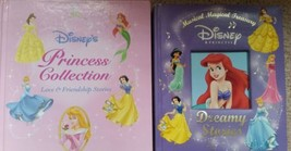 LOT OF 2 HARD COVER BOOKS: DISNEY'S PRINCESS COLLECTION & MUSICAL DREAMY... - $6.79