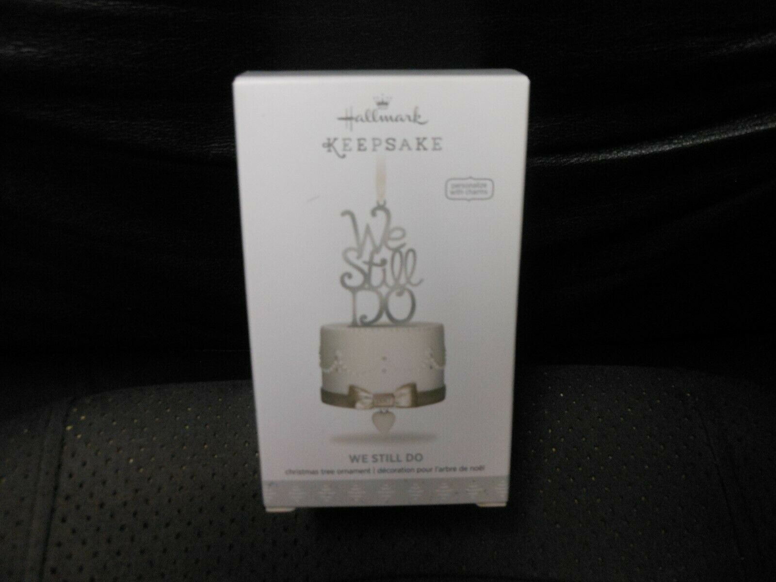 "Hallmark Keepsake ""We Still Do"" 2018 Porcelain & Metal Ornament NEW with Charms"