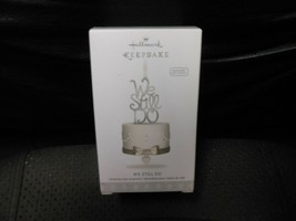 "Hallmark Keepsake ""We Still Do"" 2018 Porcelain & Metal Ornament NEW with... - $5.69"