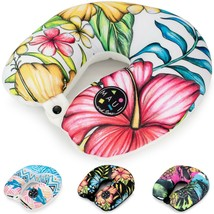 Maui and Sons Soft Travel Neck Pillow / Airplane Pillow for Supportive C... - $11.87