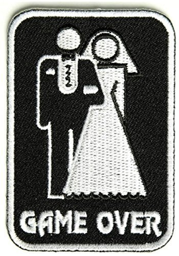 Game Over Marriage Patch - 2x3 inch