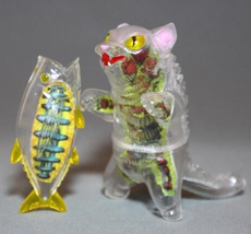 "Max Toy X-Ray Negora (with paper insert ""guts"") and Fish image 7"