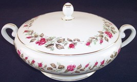Diamond China Moss Rose Covered Round Vegetable Serving Bowl, Excellent ... - €19,17 EUR