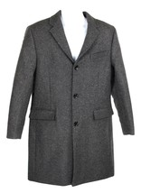 J Crew Mens Everyday Topcoat Outerwear Coat Jacket 40S Heather Charcoal K3296 - $147.19