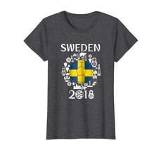 Sport Shirts - Sweden Soccer Jersey Tshirt World Football 2018 Gift Fan ... - $19.95+