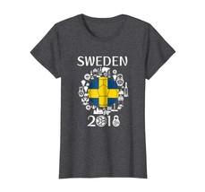 Sport Shirts - Sweden Soccer Jersey Tshirt World Football 2018 Gift Fan ... - $19.95+