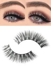 Fani Luxurious 3D False Eyelashes Extension Black Thick Natural long Cluster M - $19.05