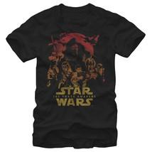 Star Wars Episode VII Group Shot Mens Graphic T Shirt - $10.99