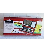Royal and Langnicke  Essentials Beginner Watercolor Painting Wood 24 pc ... - $20.79