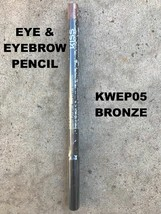 KISS NEW YORK PROFESSIONAL EYE & EYEBROW PENCIL # KWEP05 BRONZE - $2.76