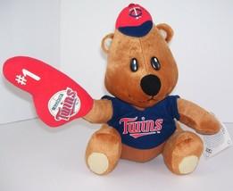 """Minnesota Twins Plush #1 Plush Genuine Merchandise MLB Nanco 10.5"""" Teddy... - $9.88"""