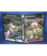 ETERNAL POISON for PS2 - ARTWORK, GAME CASE and BONUS DISC ONLY - NO GAM... - $18.57