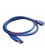 USB 3.0 DATA CABLE FOR Matsunichi  DM256-BK-1TB External Hard  Drive - $4.98