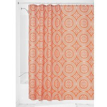 InterDesign Medallion Fabric Shower Curtain, 72 x 72, Sunburst - $17.49