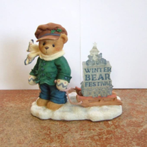 Cherished Teddies James - Going My Way for the Holidays 269786 - $17.81