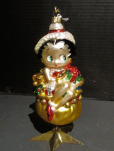 Kurt Adler Polonaise Betty Boop Christmas Ornament, with Gifts - $39.98