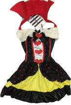 Leg Avenue Sexy Queen of Hearts Costume Alice In Wonderland Size XS 8333... - $27.13